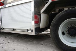 SIDE GUARDS ON HEAVY VEHICLES improve pedestrian safety